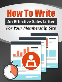 How to Write An Effective Membership Sales Letter