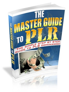 Master Guide to PLR E Cover