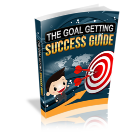 The goal getting success guide e book graphic